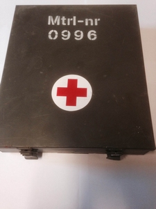 First Aid EHBO trommel