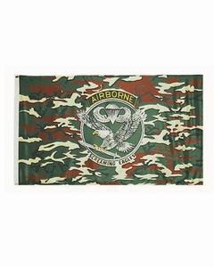 Vlag US AIR BORNE Camouflage