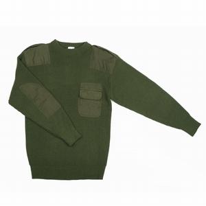 Commando trui acryl in Zwart, Groen of Blauw !