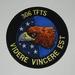 Embleem stof 306 TFTS Videre Vincere est