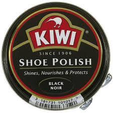 Kiwi schoenpoets, zwart