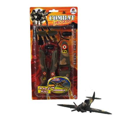 """Vliegtuig """"Aviation"""" bouwpakket"""