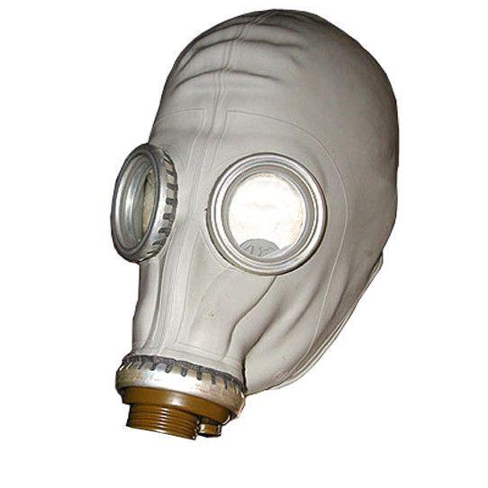 Russisch gasmaskerzonder filter HALLOWEEN !